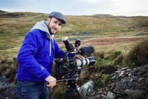 Cameraman Richard Reed Filming