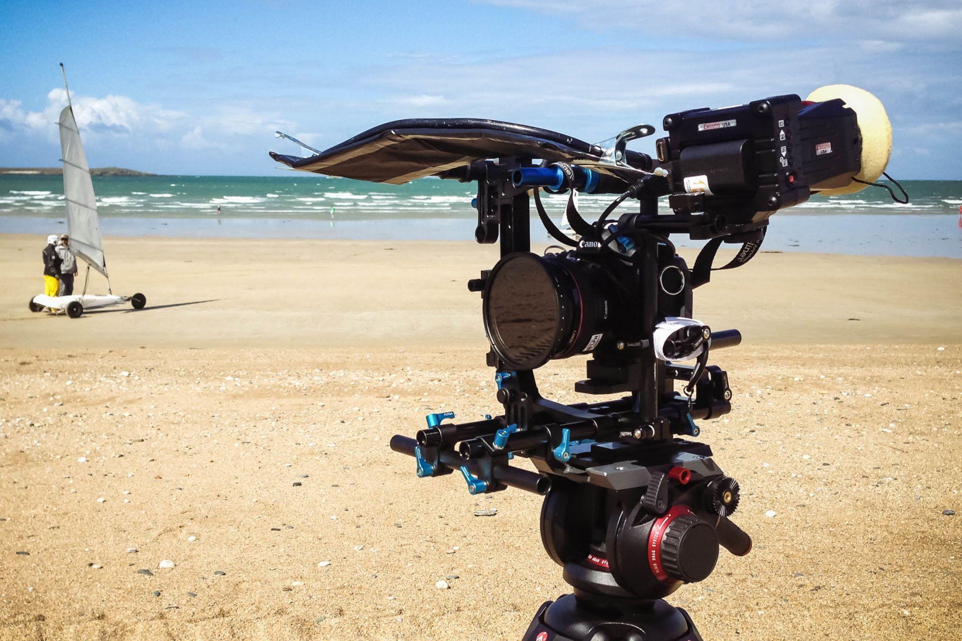 Canon 5D beach Cameraman
