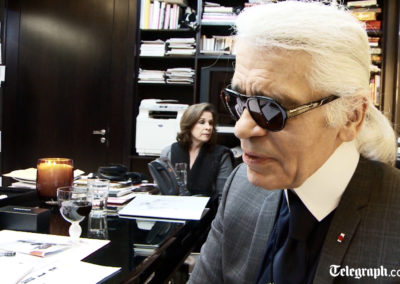 Karl Lagerfeld Interview