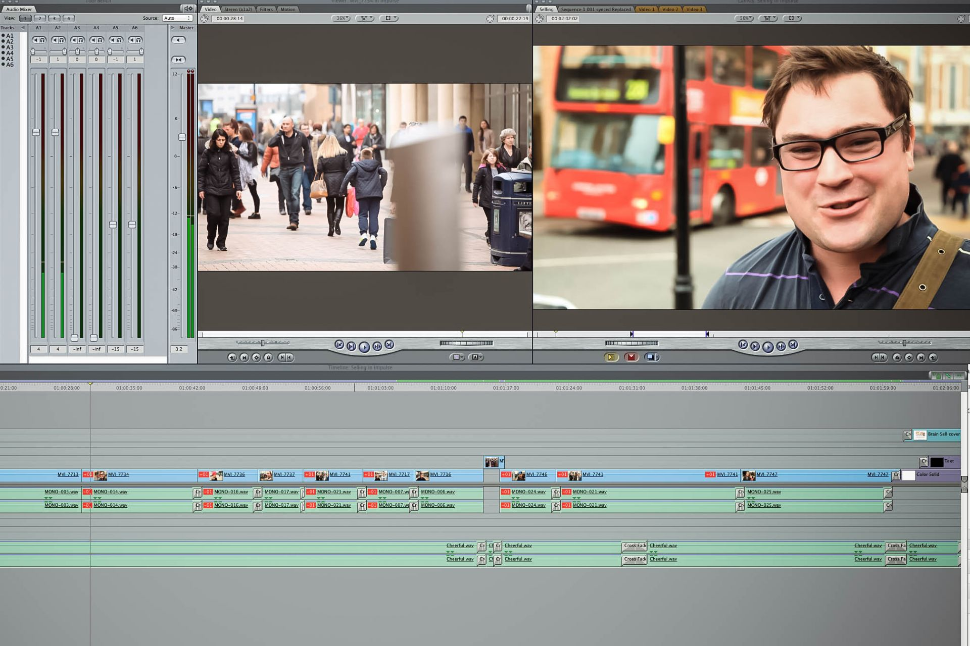 Video Editor Final Cut Timeline