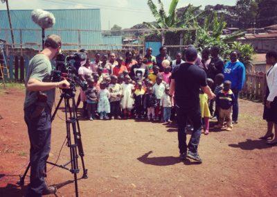 cameraman africa