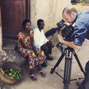 cameraman-filming lemons africa